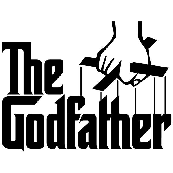 Adesivi Murali: The Godfather Logo