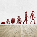 Adesivi Murali: Evolution Droid 2