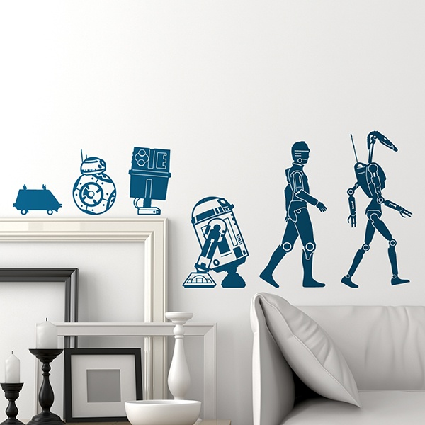 Adesivi Murali: Evolution Droid