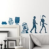 Adesivi Murali: Evolution Droid 3