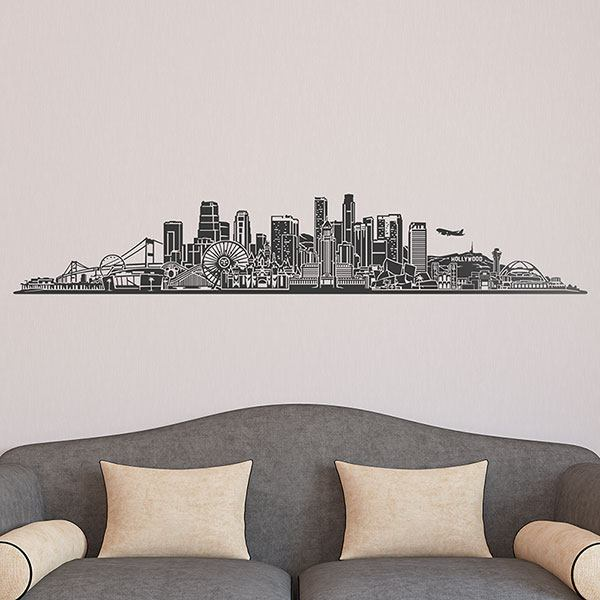Adesivi Murali: Los Angeles Skyline