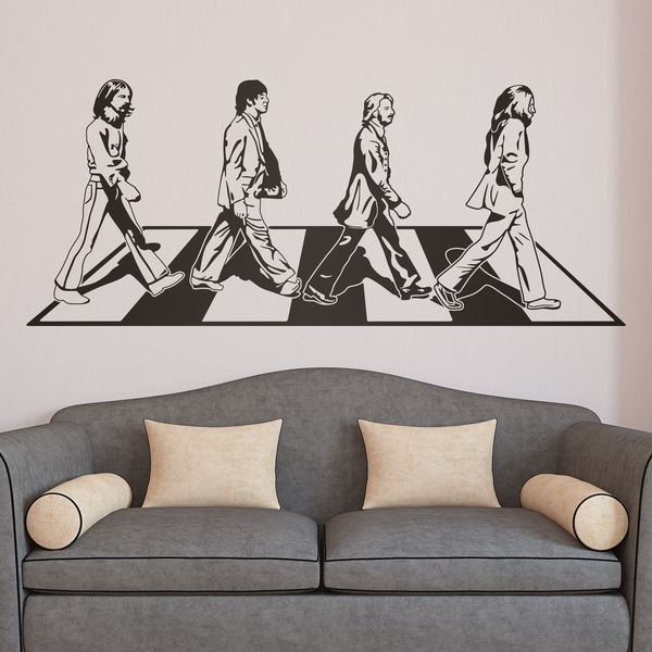 Adesivi Murali: Abbey Road