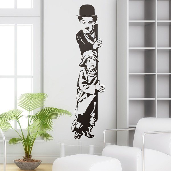 Adesivi Murali: Chaplin The Kid 0