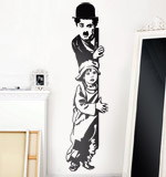Adesivi Murali: Chaplin The Kid 2
