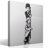 Adesivi Murali: Chaplin The Kid 5