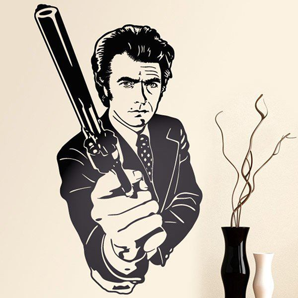 Adesivi Murali: Dirty Harry