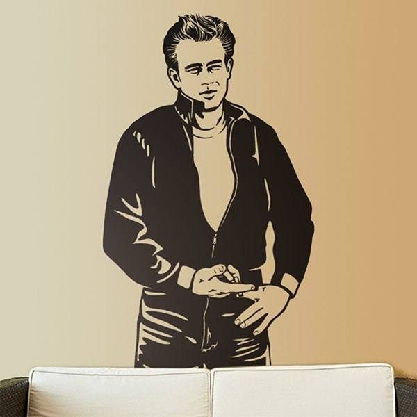 Adesivi Murali: James Dean