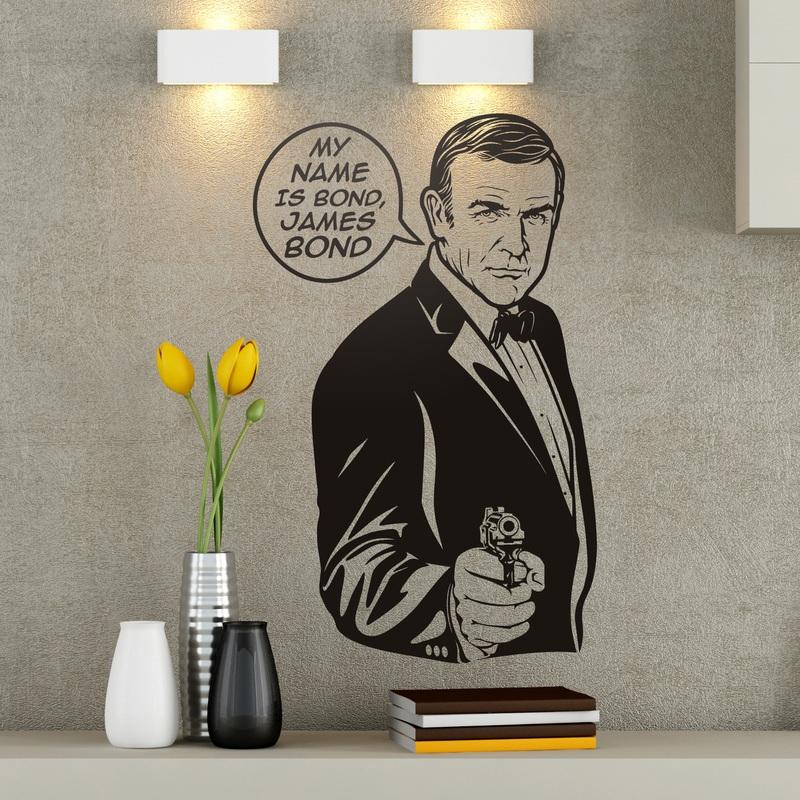 my name is bond. Black Bedroom Furniture Sets. Home Design Ideas