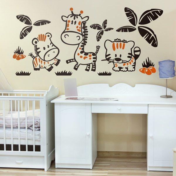Stencil Muro Bambini Simple Stencil Da Muro Per Bambini Bambini