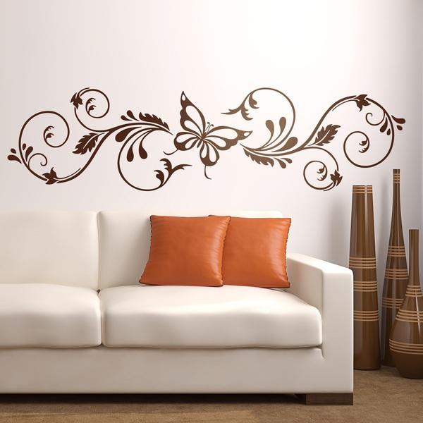 Adesivo murale floreale adelfis - Vinilos pared juveniles ...