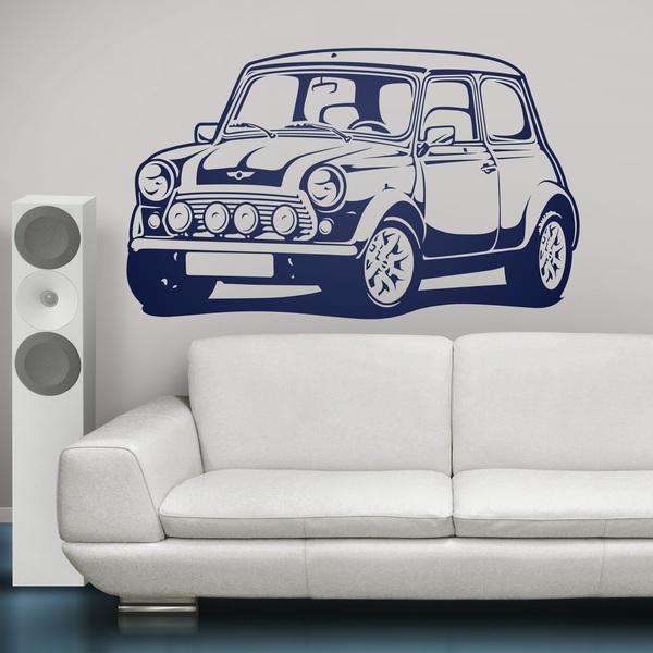 Adesivo Murale Mini Cooper
