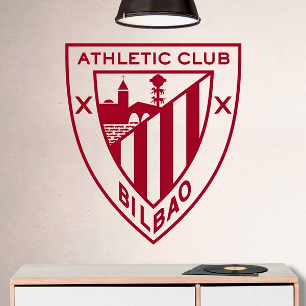 Adesivi Murali: Emblema Athletic Club de Bilbao