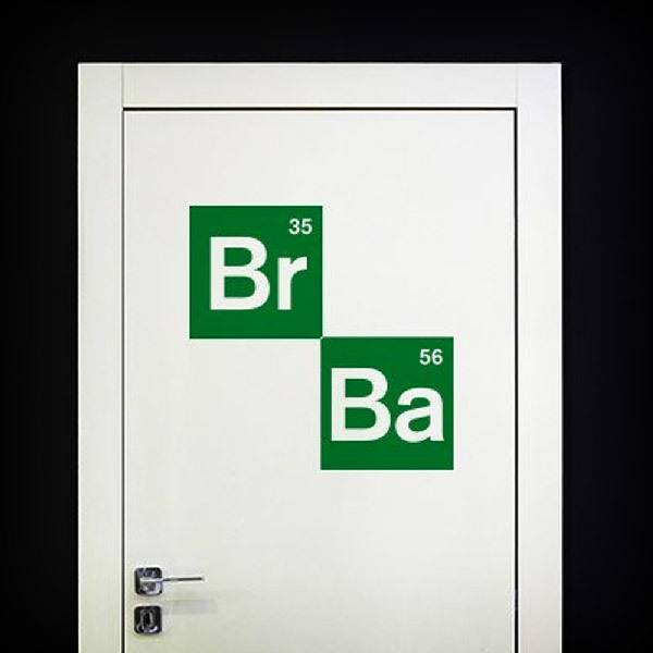Adesivi Murali: Logo Breaking Bad 2