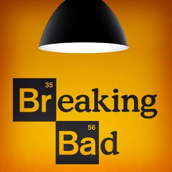 Adesivi Murali: Logo Breaking Bad 1
