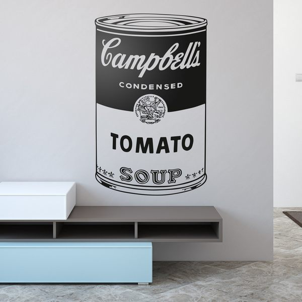 Adesivi Murali: Andy Warhol Campbell's Soup Cans