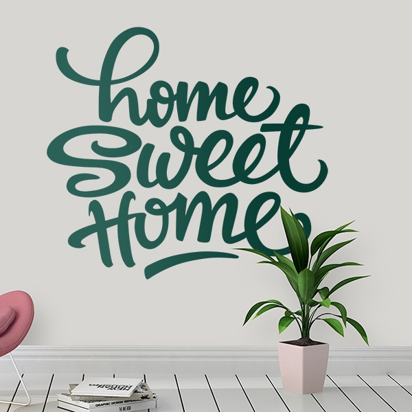 Adesivi Murali Home Sweet Home.Adesivo Murale Home Sweet Home Stickersmurali Com