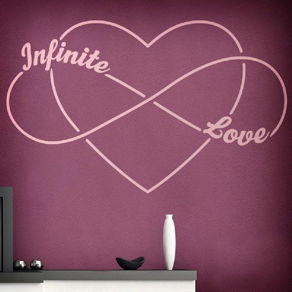 Adesivi Murali: Infinite Love