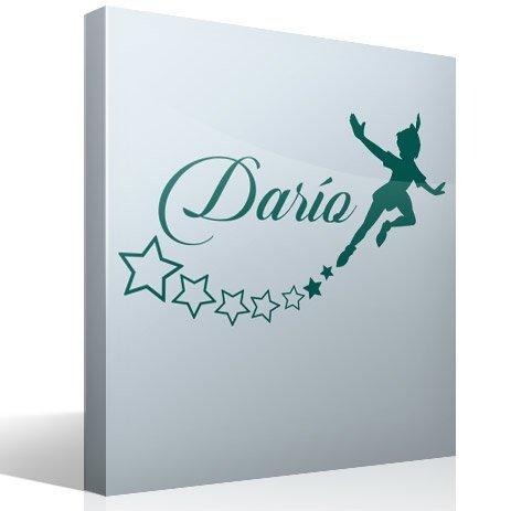 Adesivi Murali Peter Pan.Adesivo Murale Bambini Peter Pan Personalizzato Stickersmurali Com
