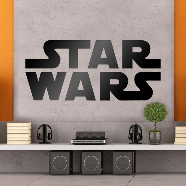 adesivi murali star wars. Black Bedroom Furniture Sets. Home Design Ideas