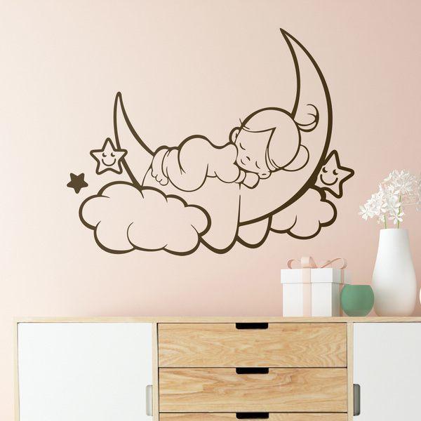 Adesivi murali neonati e bambini 0 4 anni for Pegatinas de pared infantiles
