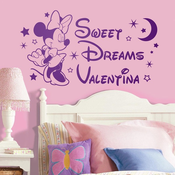 Adesivi per Bambini: Minnie Mouse Sweet Dreams
