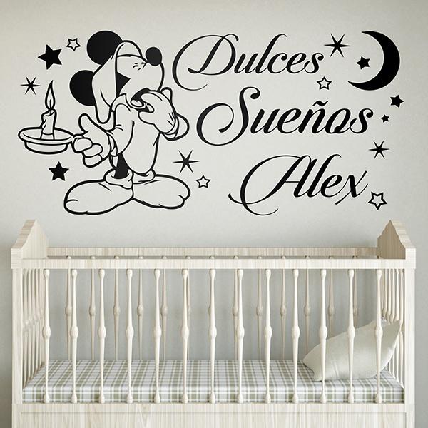 Adesivi Murali Minnie E Topolino.Adesivi Murali Disney Per Bambini