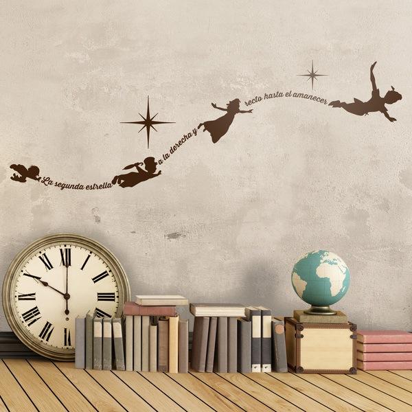 Adesivi murali da testo per bambini