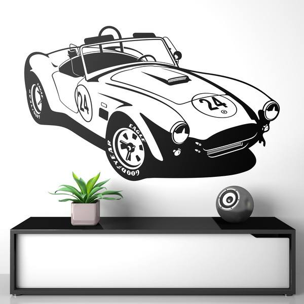 Adesivi Murali: AC Cobra Sports Car