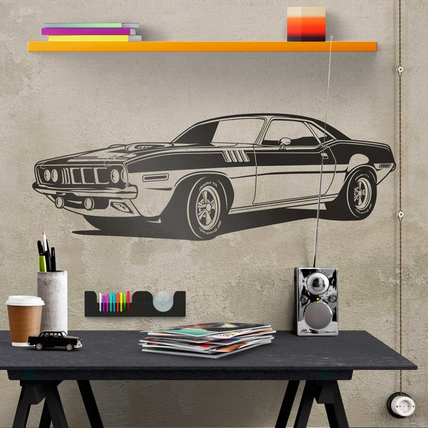 Adesivi Murali: Ford Mustang Muscle Car