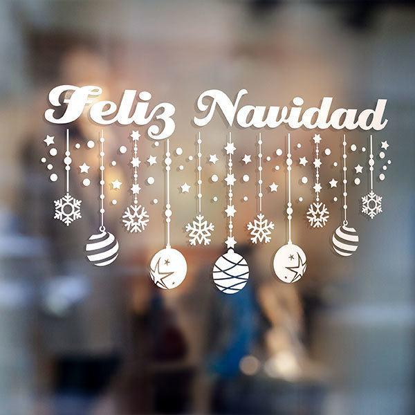 Adesivi Buon Natale.Adesivi Murali Di Natale Stickersmurali Com