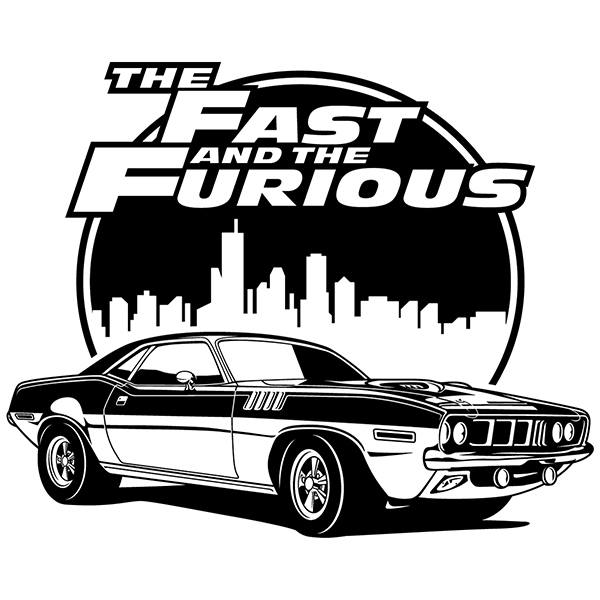 Adesivi Murali: The Fast and The Furious