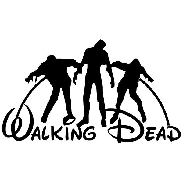 Adesivi Murali: Walking dead Disney