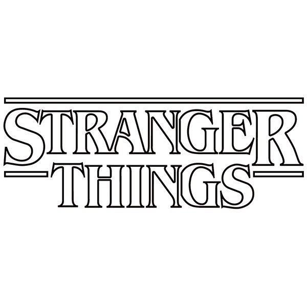 Adesivi Murali: Stranger Things