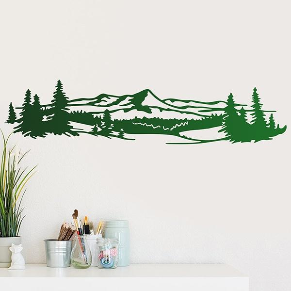 Adesivo murale Paesaggio montuoso | StickersMurali.com