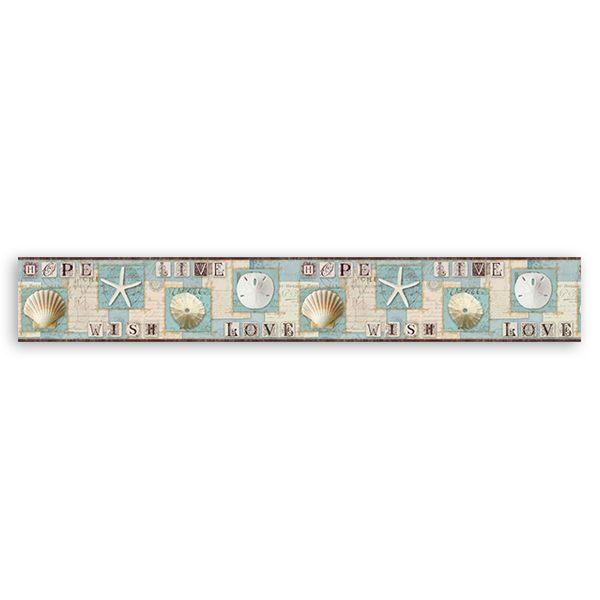 bordi adesivi per pareti camerette adesivi murali bordo motivi marini