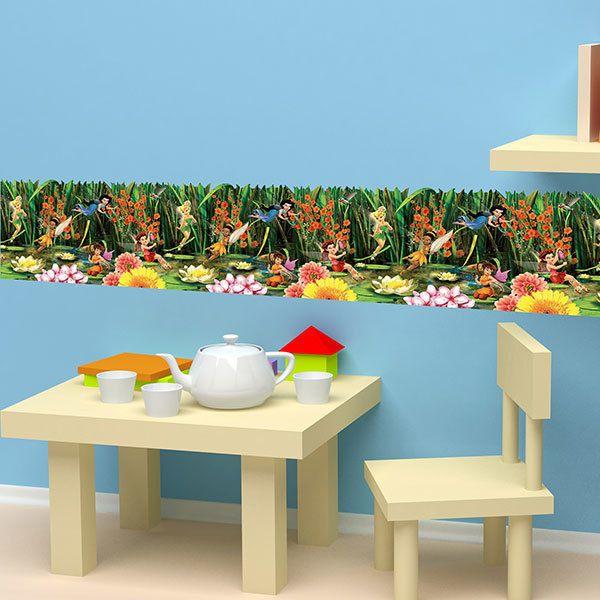 Greche decorative bordi per bambini for Bordure adesive per pareti