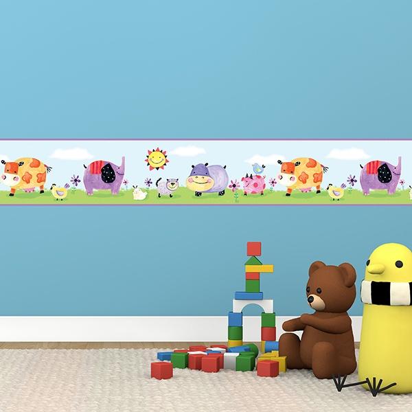 Adesivi E Bordi Da Muro Per Bambini Di Nintendo Kids
