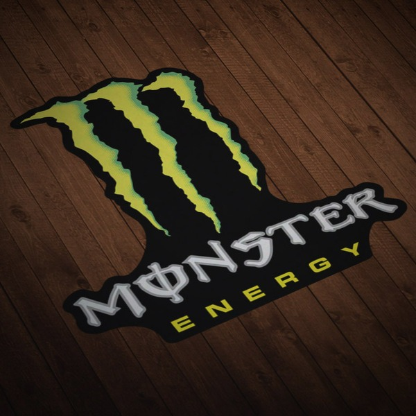 Adesivi per Auto e Moto: Monster Energy 2