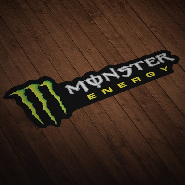 Adesivi per Auto e Moto: Monster Energy 7