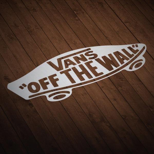 Adesivi per Auto e Moto: Vans off the wall skate
