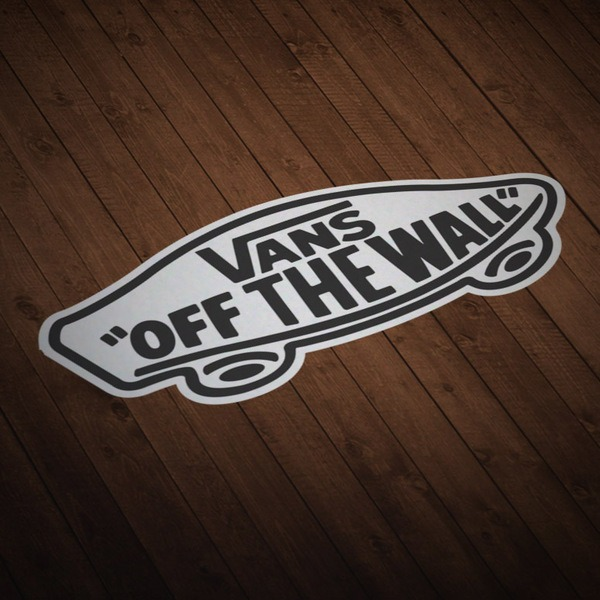 Adesivi per Auto e Moto: Vans off the wall 5