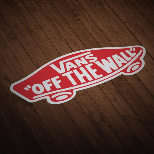 Adesivi per Auto e Moto: Vans off the wall 7