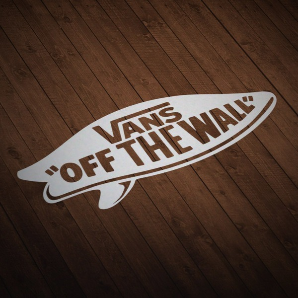 Adesivi per Auto e Moto: Vans off the wall surf