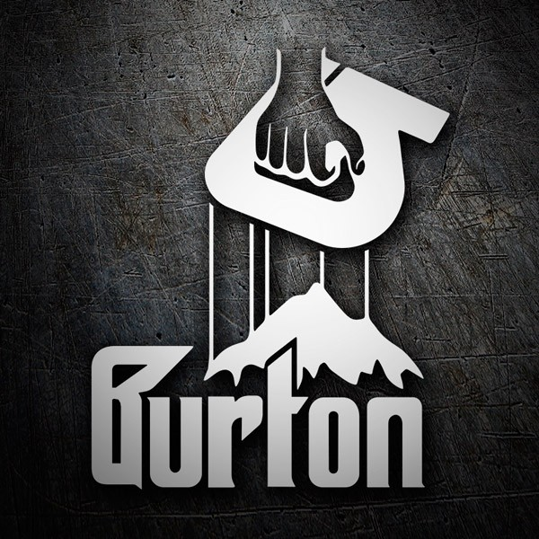 Adesivi per Auto e Moto: Burton Godfather