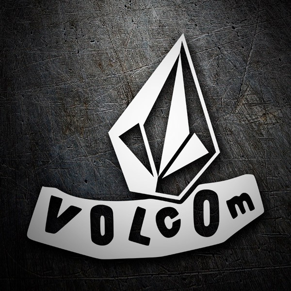 Adesivi per Auto e Moto: Volcom abstract