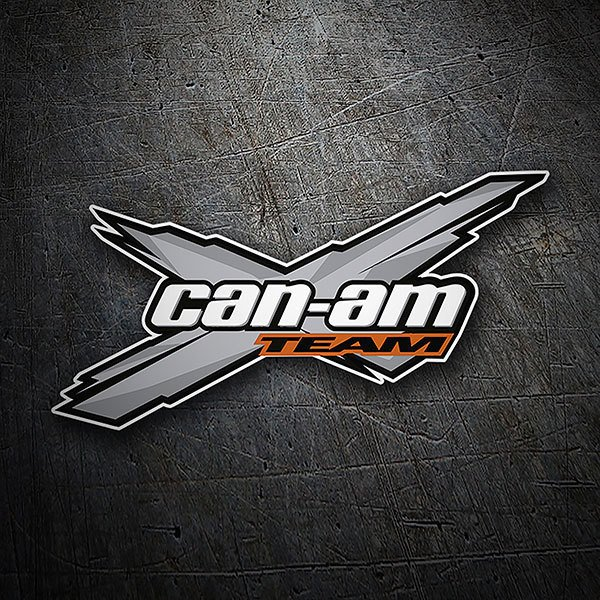 Adesivi per Auto e Moto: Can-am Team
