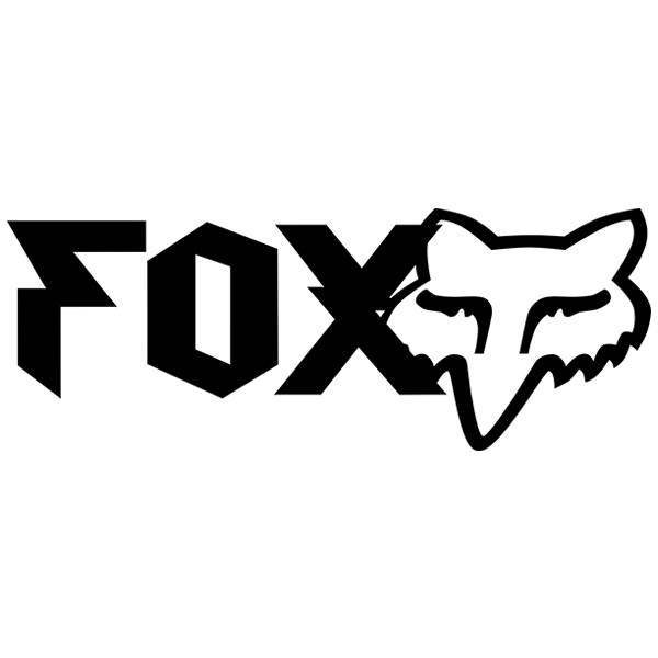 Adesivi per Auto e Moto: Fox Racing Heavy