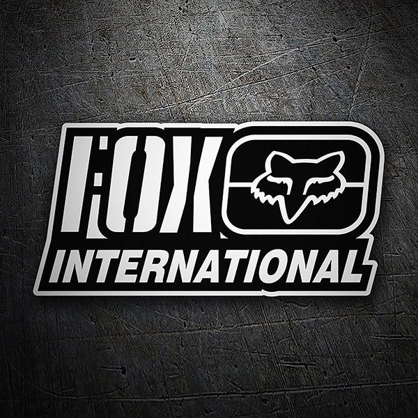 Adesivi per Auto e Moto: Fox Racing International