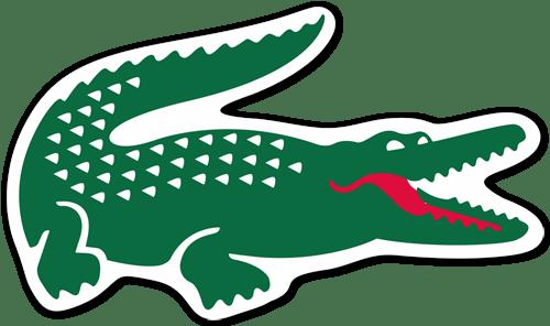 adesivo coccodrillo lacoste