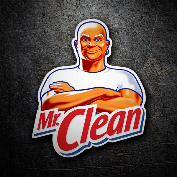 Adesivi per Auto e Moto: Mr. Clean